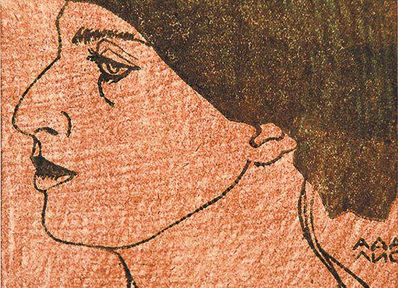 «ПОДОБНЫЙ СНАМ ЕГИПТА ПРОФИЛЬ…» найвідоміша, найзабутіша Аделіна Адаліс