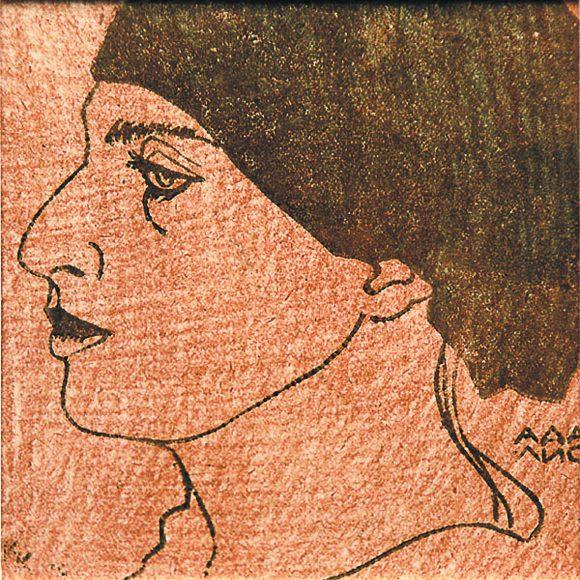 «ПОДОБНЫЙ СНАМ ЕГИПТА ПРОФИЛЬ…» самая известная, самая забытая Аделина Адалис