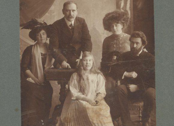 Фотографії з сімейного альбому Юшкевичей