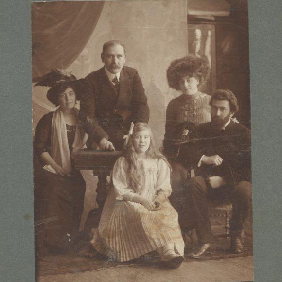 Фотографии из семейного альбома Юшкевичей