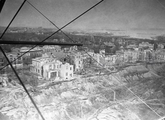 Улица Черноморская. 1944 год.