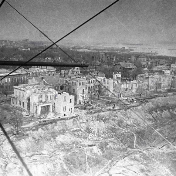 Вулиця Чорноморська. 1944 рік.